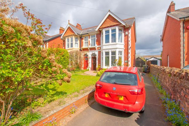 Thumbnail Semi-detached house for sale in Park Road, Cardiff