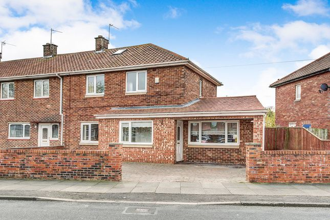 Thumbnail Semi-detached house for sale in Fern Drive, Dudley, Cramlington