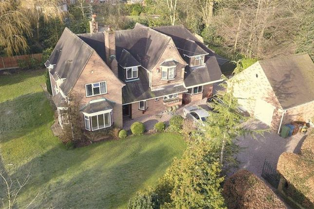 Thumbnail Detached house for sale in Meadow Croft, Meadow Road, Barlaston, Stoke-On-Trent