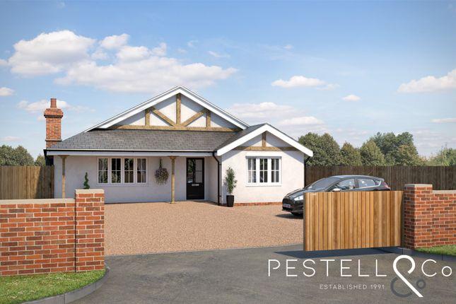 3 bed detached bungalow for sale in Glebe Lane, Little Easton, Dunmow CM6