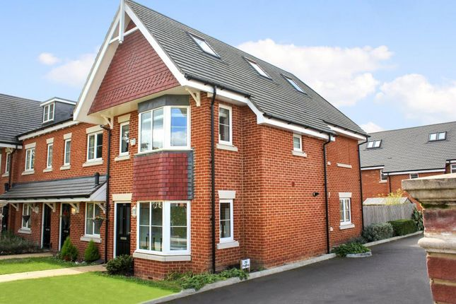Thumbnail End terrace house for sale in Mytchett Road, Mytchett