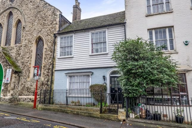 Thumbnail End terrace house for sale in Star Hill, Rochester, Kent