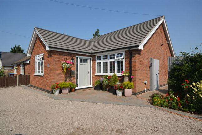 Thumbnail Detached bungalow for sale in Old Mill Road, Broughton Astley