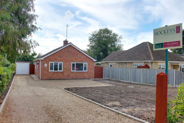 Thumbnail Detached bungalow for sale in Wales Bank, Elm, Wisbech