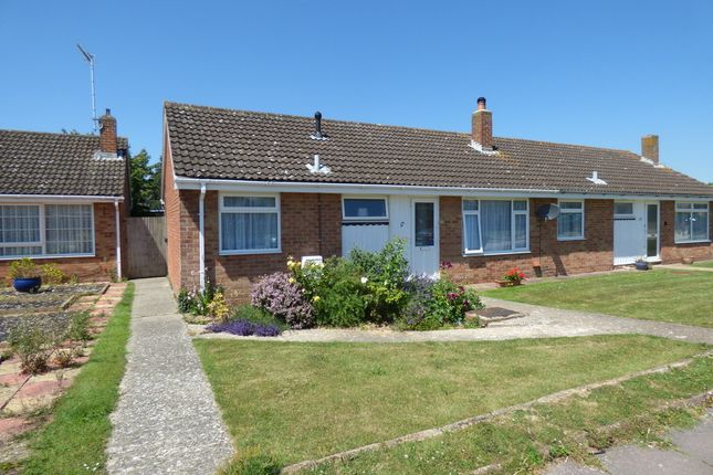 Thumbnail Semi-detached bungalow for sale in Coleridge Road, Goring-By-Sea, Worthing
