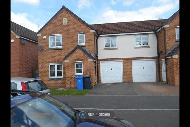 Thumbnail Semi-detached house to rent in Kiwi Drive, Derby