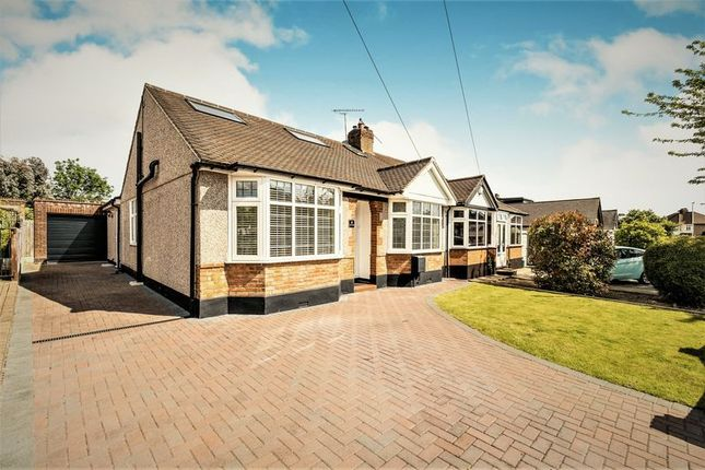 Thumbnail Semi-detached bungalow for sale in Ayr Way, Romford