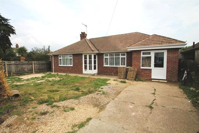Thumbnail Bungalow for sale in Garrison Lane, Felixstowe