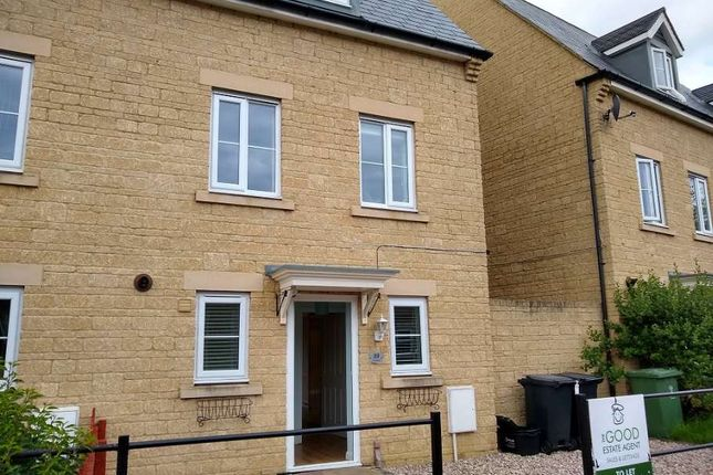 Thumbnail 3 bed semi-detached house to rent in Thursday Street, Swindon