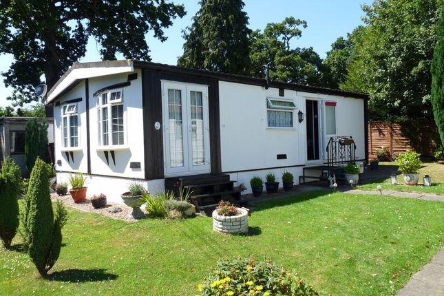 Thumbnail Mobile/park home for sale in St. Brelades Court, Crouch House Road, Edenbridge