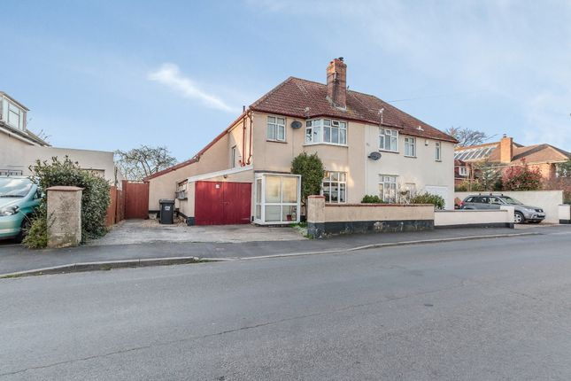 Thumbnail Semi-detached house for sale in Hillcrest Road, Barnstaple