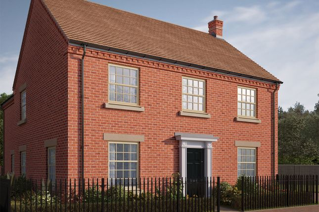 "Thumbnail Detached house for sale in ""The Burghley"" at Iowa Road, Alconbury, Huntingdon"