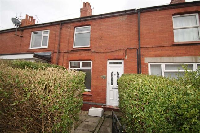 Thumbnail Terraced house to rent in Stanley Road, Ponciau, Wrexham