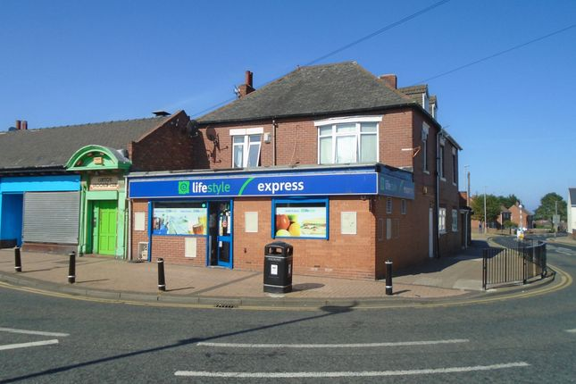 Thumbnail Retail premises for sale in Palace Road, Bedlington