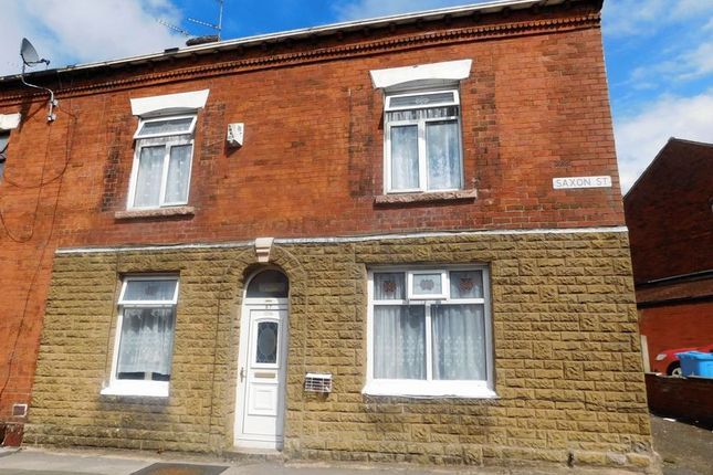 Thumbnail Terraced house for sale in Saxon Street, Oldham
