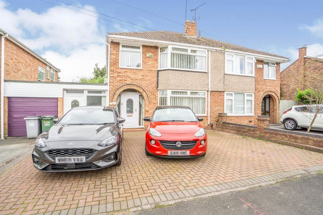 Thumbnail Semi-detached house for sale in Gorsefield Avenue, Bromborough, Wirral