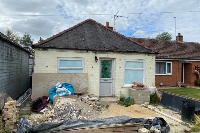 1 bed bungalow for sale in 30 Hundred Road, March, Cambridgeshire PE15