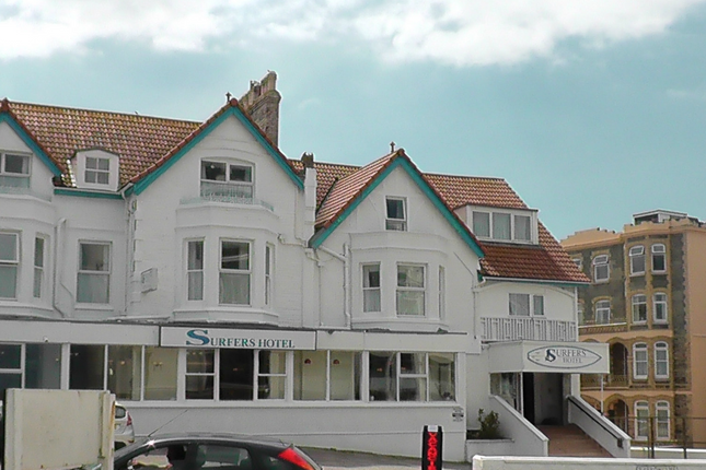 Thumbnail Hotel/guest house for sale in 1 Narrowcliff, Newquay