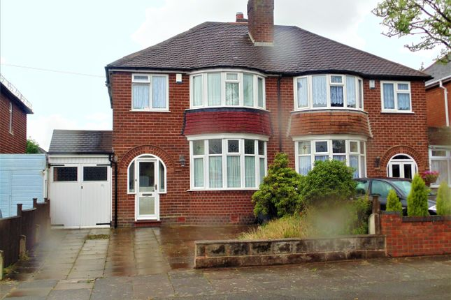Thumbnail Semi-detached house for sale in Yateley Avenue, Great Barr