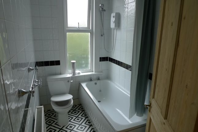 Bath With Shower Over And WC