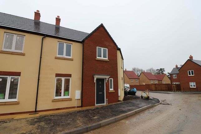Thumbnail Semi-detached house to rent in Brawn Drive, Raunds, Wellingborough