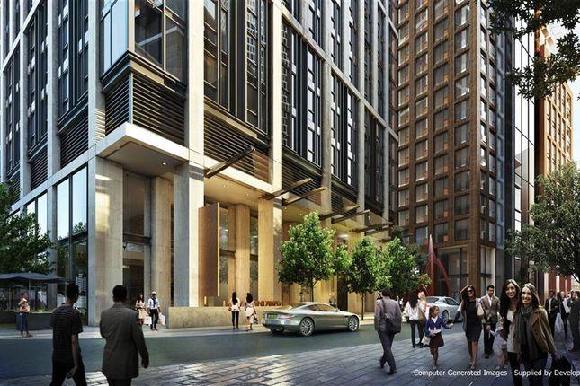3 bed flat for sale in Aykon London One, Riverside, Nine Elms, London