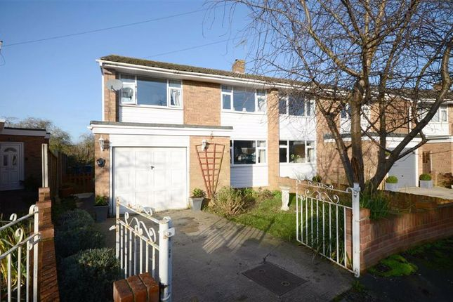 Thumbnail Semi-detached house for sale in Bush Hay, Churchdown, Gloucester