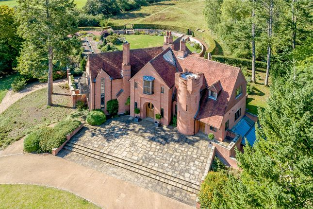 Thumbnail Detached house for sale in Hook End Lane, Lower Basildon, Reading