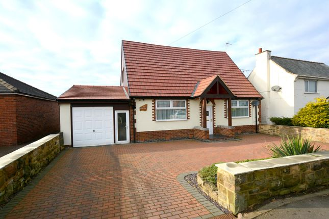 Thumbnail Detached bungalow for sale in North Wingfield Road, Grassmoor, Chesterfield