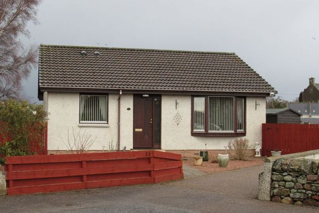 Thumbnail Bungalow for sale in Millcroft Road, Auldearn, Nairn