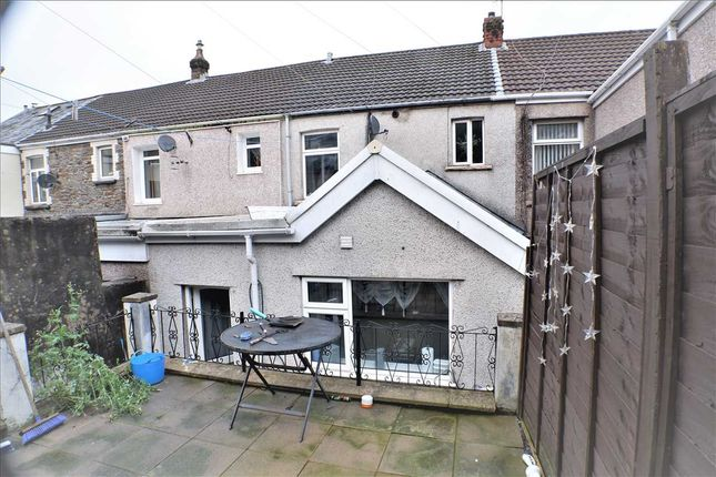 Rear Garden of The Avenue, Pontygwaith, Ferndale CF43