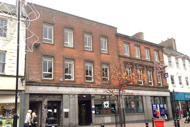 Thumbnail Office to let in 147-151 High Street, Dumfries, Dumfriesshire