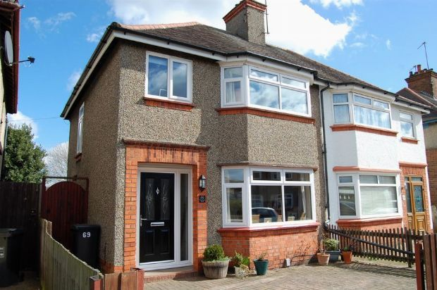Thumbnail Semi-detached house for sale in Bushland Road, The Headlands, Northampton