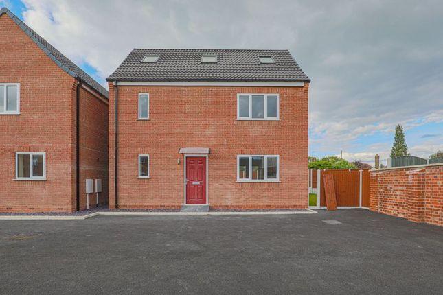 Thumbnail Detached house for sale in Plot 6 Loscoe, Denby Lane, Heanor