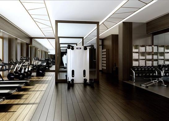 E1: Gym of Cashmere House, Aldgate, London E1