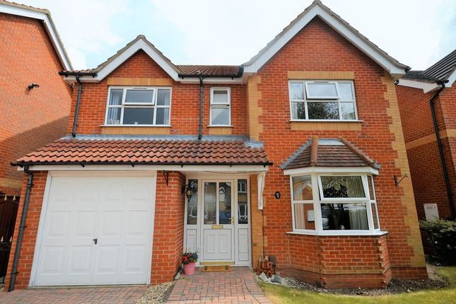 Thumbnail Detached house for sale in 9 George Butler Close, Grimsby