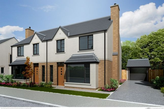 Thumbnail Semi-detached house for sale in Chantry Gardens, Station Road, Greenisland
