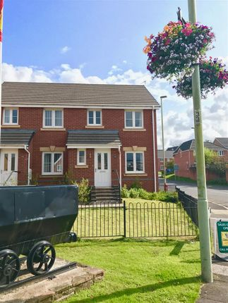 Thumbnail Semi-detached house for sale in Ffordd Y Dolau, Llanharan, Pontyclun