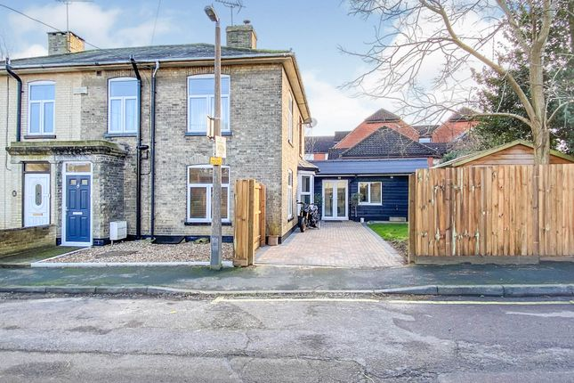 Thumbnail Semi-detached house for sale in Fairfield Hill, Stowmarket