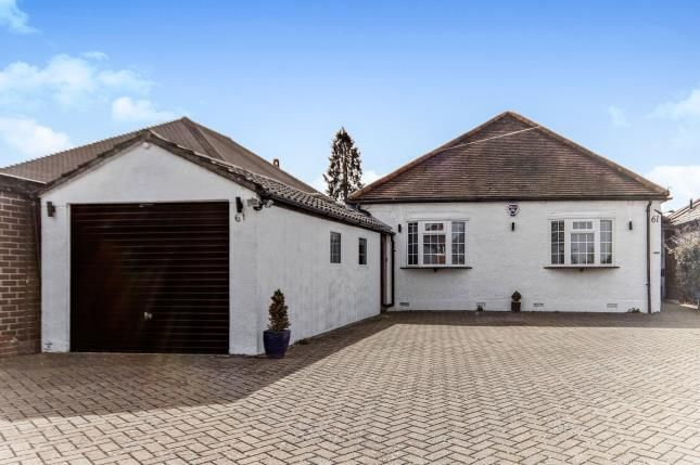 Thumbnail Bungalow for sale in Woodmere Avenue, Shirley, Croydon