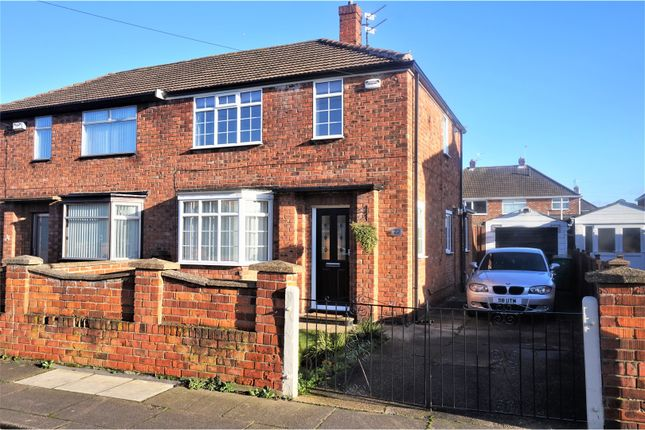 Thumbnail Semi-detached house for sale in Cartledge Avenue, Grimsby