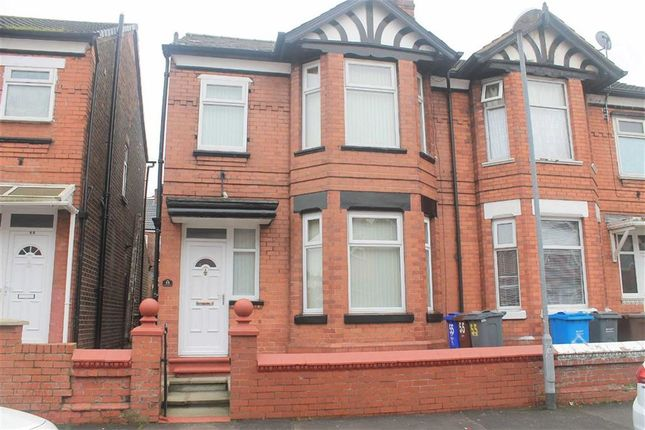 Thumbnail Semi-detached house for sale in Slade Grove, Longsight, Manchester