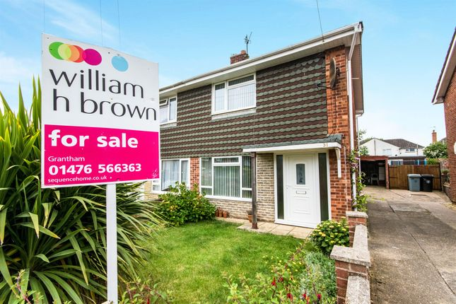 End terrace house for sale in Hill View Close, Grantham