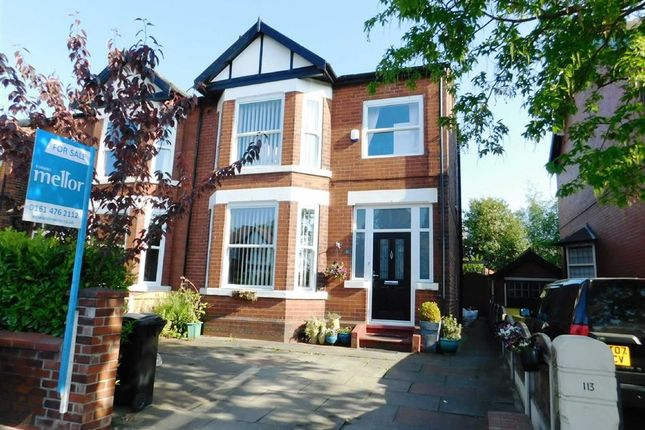 Thumbnail Semi-detached house for sale in Edgeley Road, Stockport, Cheshire