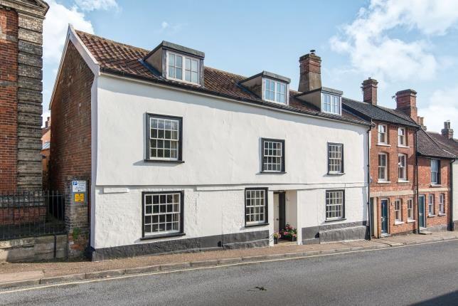 Thumbnail End terrace house for sale in Wymondham, Norwich, Norfolk