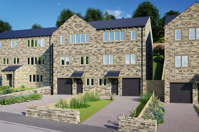 Thumbnail Semi-detached house for sale in Thirstin Mills, Thirstin Road, Honley
