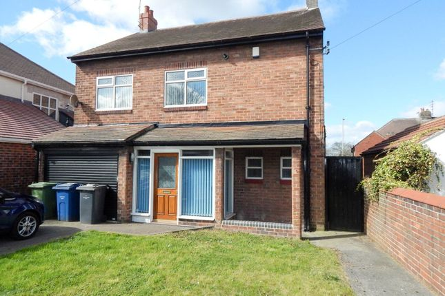 Thumbnail Detached house to rent in West Avenue, South Shields