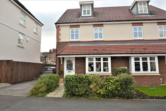 Thumbnail Semi-detached house to rent in Camberwell Drive, Walton Locks, Warrington