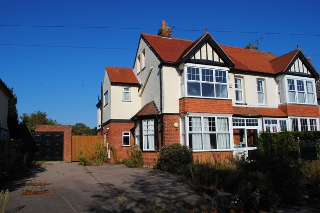 Thumbnail Semi-detached house for sale in Hadleigh Road, Frinton-On-Sea