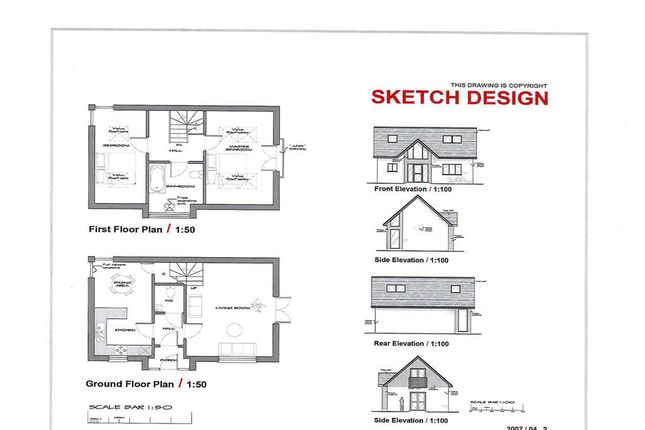Thumbnail Land for sale in Colenutts Road, Haylands, Ryde, Isle Of Wight